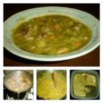 recept: erwtensoep (Dutch pea soup)