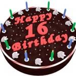 darryn.net happy 16th blog birthday cake